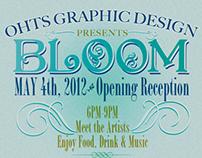 Bloom Art Show Poster