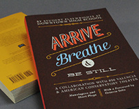 Arribe, Breathe, and Be Still