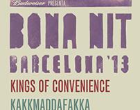 Bona Nit Barcelona // Poster