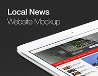 Local News Website Design