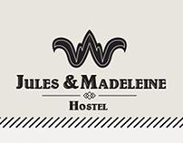 Jules & Madeleine Hostel - Website