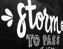 Chalk Board Lettering
