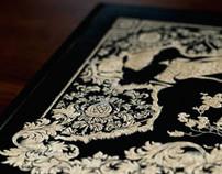 Engraved Bear Sketchbook