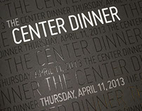 2013 Center Dinner