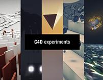 C4D Experiments