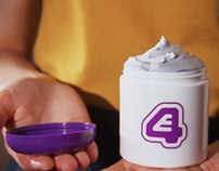 E4 Idents - Creamy Shampoo advert
