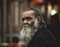 Street Portraits: Male, Digital/Analog