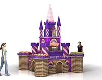 Card board Castle