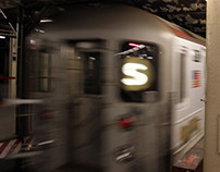 Advertising Out-of-Home -Times Sq Shuttle Train Wrap