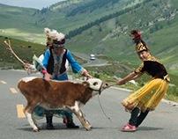 On the Road (Day) - Xinjiang, China