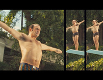 """OSS RIO"" THE POOL SCENE - SPLIT-SCREEN"
