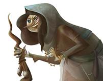 The Tale of Baba Yaga - Character Design