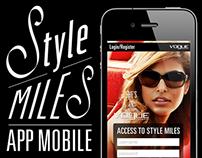 APP Mobile - Vogue Eyewear Style Miles