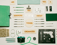 Things Organized Neatly - A research project