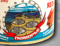 POMORIE, tin cans (products from sea)