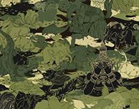 """Hide and Seek"" VANDAVANDA Thai Tattoo Camouflage"