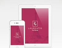 Laurentis, beauty salon - Rebrand