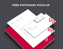 Free Branding & Stationary Mock-up Set