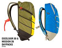 Excelsior 30 & Mission 26 Daypacks