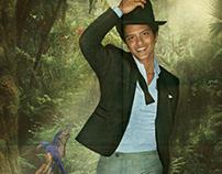 Bruno Mars - The Moonshine Jungle Tour Promo Poster