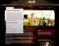 Shaadi web design concept