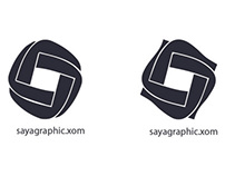 logo for saya graphic