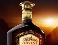 ARVEST VSOP, NAPOLEON, tin package (cognac)