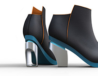 Polished Absurdity: Women's Footwear Collection