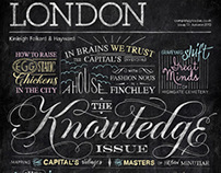 Completely London - Chalkboard Cover