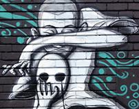 Side Street Studios mural
