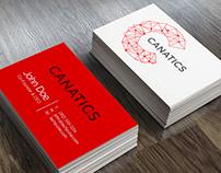Canatics logo design
