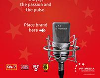 Primedia Broadcasting - 'place brand here' Ad