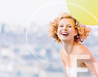 Gestaltung Flyer Events 2014 für Modedesignerin