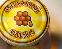 MEDOVIY SPAS, twist-off tin cap (honey)