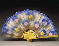 Porcelain Chinese Fan