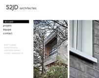 Site web / S2JD Architectes Liège