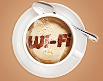 Wi-fi promo illustration