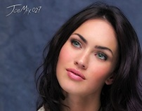 Megan Fox retouch