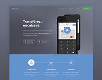 Lydia website redesign