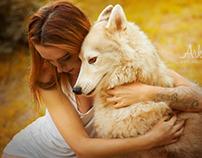 La Jeune fille aux Loups