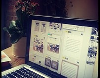 UX/UI web design project for a Start-up