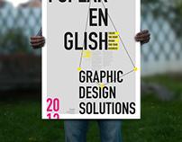I Speak English Promotional Poster
