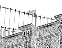 Brooklyn Bridge in Letterpress Type (Kickstarter)