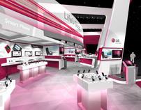LG CTIA Exhibit Design Concept