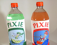 Pixie Pop: a fruit flavored soda