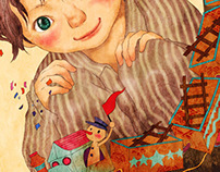 La Freccia Azzurra book illustration