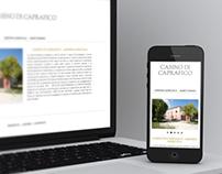Casino di Caprafico - Responsive Website