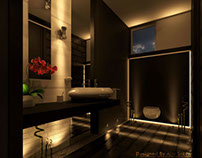 Contemporary Arabian Master Bedroom