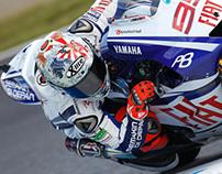 """Jorge Lorenzo """"Japan"""" helmet ( Motegi 2010 )"""