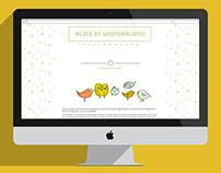 Alice in Wonderland Website